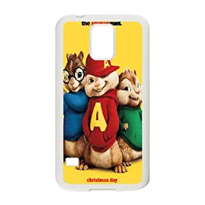 Alvin and the Chipmunks Samsung Galaxy S5 Cell Phone Case White Uphbv