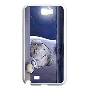 AKERCY Peep And Eyes Phone Case For Samsung Galaxy Note 2 N7100 [Pattern-4]