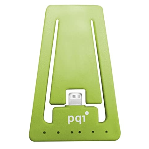 PQI i-Cable Charging and Sync Stand for Apple Lightning Devices - Green Edition (Pqi I Cable)