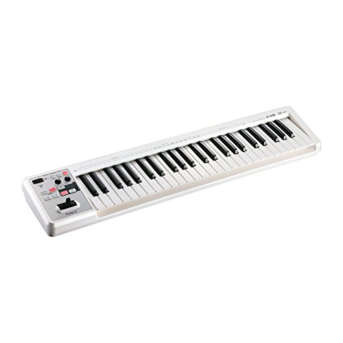 Roland A-49-WH | 49 Keys Portable MIDI Keyboard Controller White