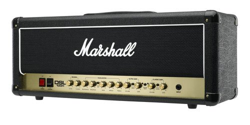 (Marshall DSL Series DSL100H 100-Watt All-Tube Guitar Amplifier Head - Black)