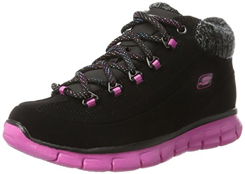 Botines Skechers Niñas Para black Will Pink Strong hot Synergy Negro qwZFRp