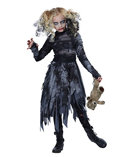 Girl Costumes Scary (California Costumes Zombie Girl Child Costume, Medium)