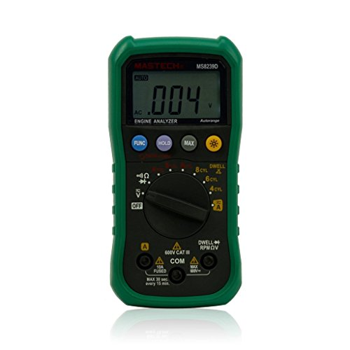 Mastech MS8239D Digital Automotive Multimeter And Engine Analyzer Dwell...