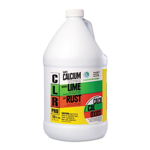 CLR PRO Calcium, Lime and Rust Remover, 128 oz Bottle - Includes four per case. by Jelmar