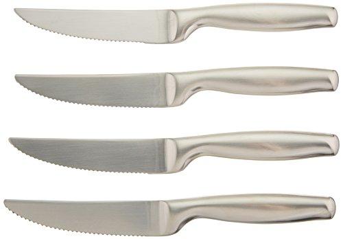 UPC 624636282243, Gourmet Settings Stainless-Steel Steak Knives, Set of 4
