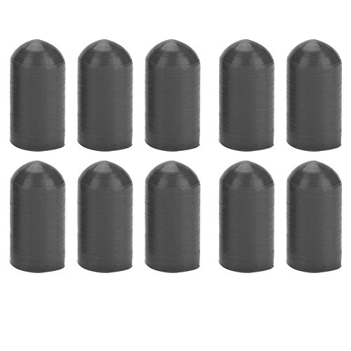 (10 Pcs Silicone Drumstick Silent Practice Tips Percussion Accessory)
