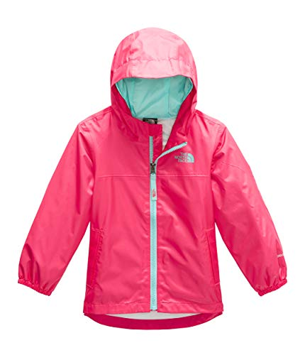 The North Face Kids Baby Girl's Zipline Rain Jacket (Toddler) Atomic Pink 6T ()