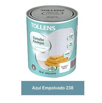 Tollens - Esmalte para azulejos al agua 750 ml (Gris Vapor 225)