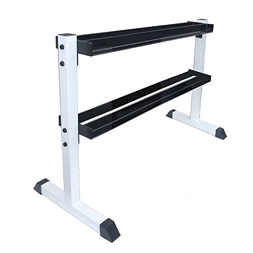 Apollo Athletics 2-Tier Vertical Dumbbell Rack, Store Up to 275LBs of Weights by Apollo Athletics