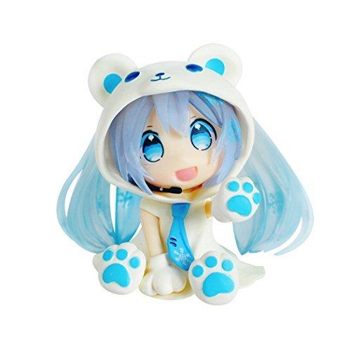 QTFHR 1 Box Action Figures, Cute Ornaments, Mini Cute Action Figure - Blue