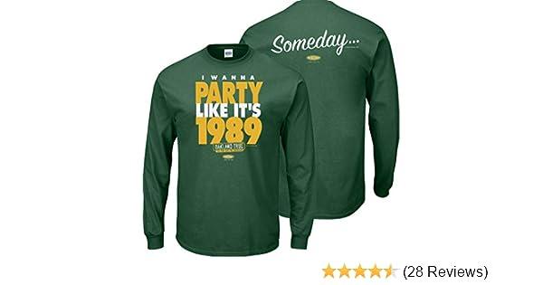 Smack Apparel Atlanta Baseball Fans I Wanna Party Like Its 1995 Navy Ladies Shirt Sm-2x