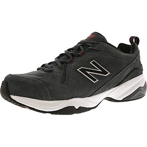 New Balance Men's MX608v4 Training Shoe, White/Navy, 14 D US