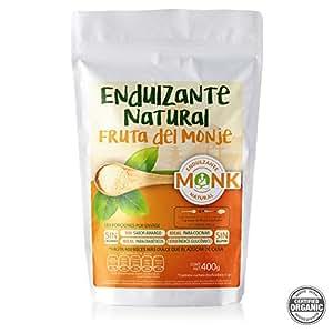 The Functional Foods Fruto del Monje Endulzante 400 gramos