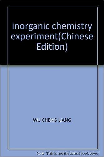 inorganic chemistry experiment(Chinese Edition): Amazon co uk: LU