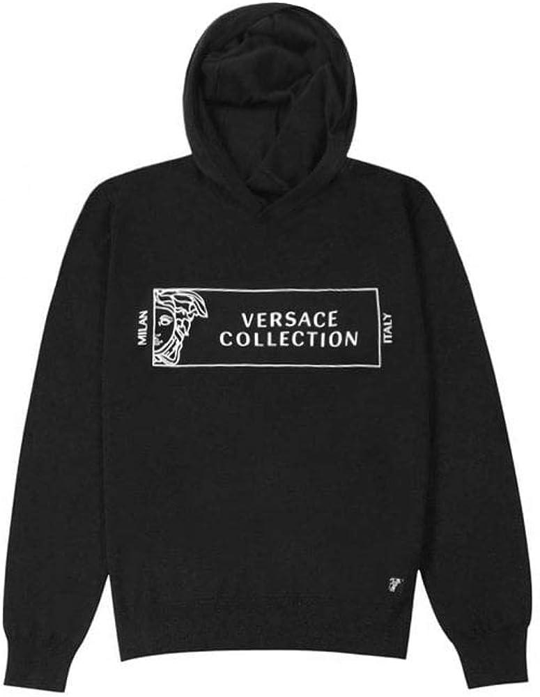 Versace Collection Logo con Capucha Jersey