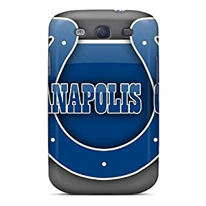 New Style Vincentscases Indianapolis Colts Premium Tpu Cover Case For Galaxy S3