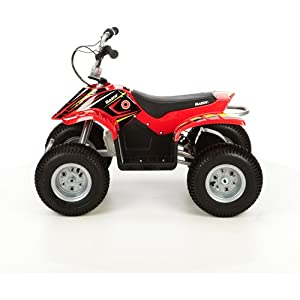 Razor Dirt Quad Electric ATV in Red