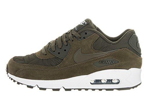 Nike AIR MAX 90 PREM womens fashion-sneakers 443817-300_5 – Dark Loden/Dark Loden/Ivory