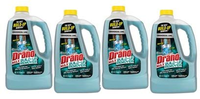 Drano Max Build-Up Remover, Commercial Line, 64 fl oz (Pack of 4) by SC Johnson (Image #8)