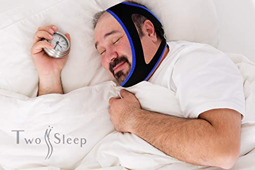 Anti Snore Chin Strap - Helps Control Snoring and Apnea for Deeper Sleep