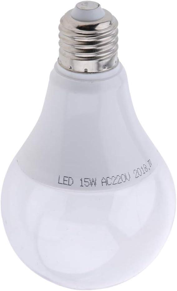 Fenteer E27 LED Pflanzenlampe Pflanzen Licht Lampe Sonnenlicht Pflanzenleuchte f/ür Garten Gew/ächshaus Zimmerpflanzen Warmes Wei/ß/_12W