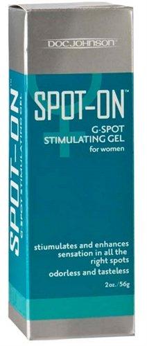 Doc Johnson Spot On, G-spot Stimulation Gel for Women, 2-Ounce