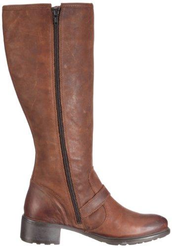 Sioux HEDY 51451 - Botas de cuero nobuck para mujer Marrón