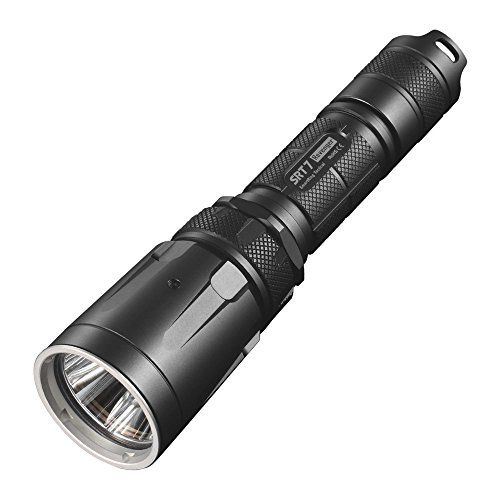 Nitecore Srt7 Revenger Led Flashlight W Rgb Color Functions Grey Srt7 Gray