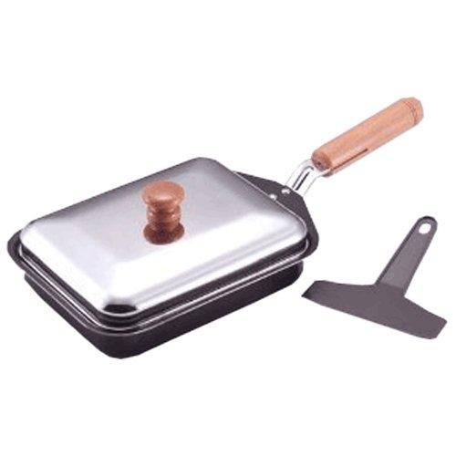 ナイスクッキング 鉄製餃子鍋(ナイロンターナー付) N-34 B008R5141O