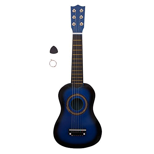 21″ Acoustic Guitar Toy with Pick String (Blue)