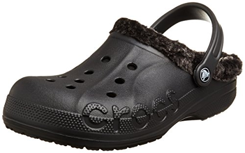 Crocs Unisex Baya Heathered Fodrade Täppa Svart / Svart