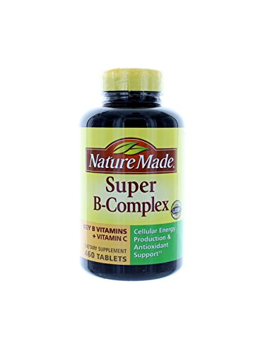 Nature Made Super B Complex Tablets 460 Count (Three Bottles each of 460 Tablets) by Nature Made
