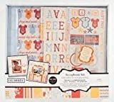 "12"" x 12"" Colorbok Scrapbook Box Kit Baby Boy"