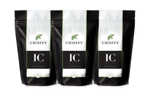 Choffy - Ivory Coast Dark 12oz. (3 Pack)