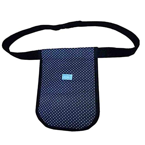 Hcwlxjy Bladder Ostomy Elderly Drainage Bag Care Package Urinary Incontinence Drain Enterostomy Waist Bag for Patients and Elderly Adjustable Belt,Blue,1000ml