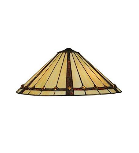 Meyda Tiffany 133548 Belvidere Lamp Shade, 20'' Width by Meyda Tiffany