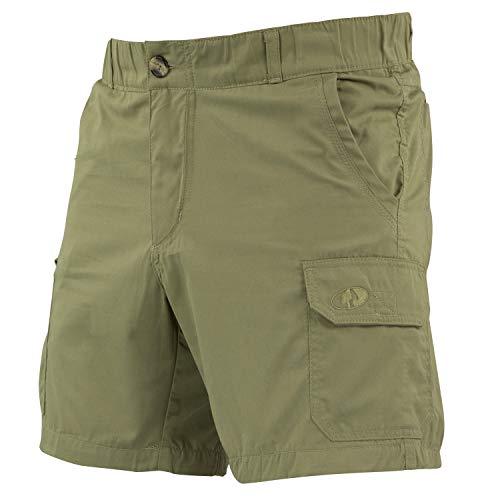 Mossy Oak Men's Hiking Shorts, Dirt, Large