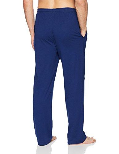 Amazon Essentials Men's Knit Pajama Pant, Blue, Medium by Amazon Essentials (Image #2)