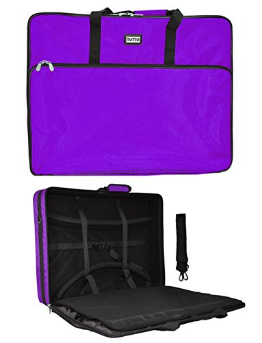Purple Tutto Embroidery Project Extra Large Bag by Tutto