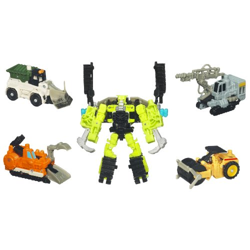 Transformers Combiner Constructicons: Steamhammer by Transformers