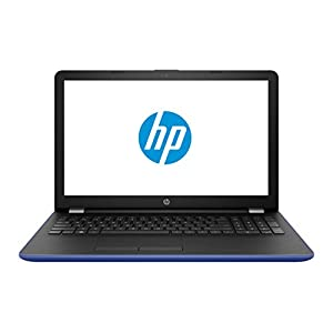 """2018 HP Marine Blue Laptop Bundle, 15.6"""" HD Touchsceen AMD Quad-Core A12-9720P APU 3.6 GHz 8GB RAM 1TB HDD Radeon R7 DVD Windows 10, Wireless Mouse and Backpack"""