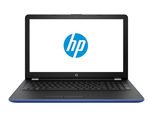 2018 HP Marine Blue Laptop Bundle, 15.6 HD Touchsceen AMD Quad-Core A12-9720P APU 3.6 GHz 8GB RAM 1TB HDD Radeon R7 DVD Windows 10, Wireless Mouse and Backpack