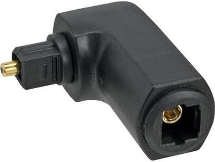 goobay Optisch Toslink Digital Audio Kupplung Buchse zu Buchse Adapter verbinder
