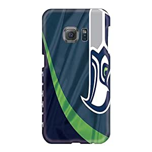 Samsung Galaxy S6 Jdx19255SARc Support Personal Customs Stylish Seattle Seahawks Pattern High Quality Hard Cell-phone Cases -AlainTanielian