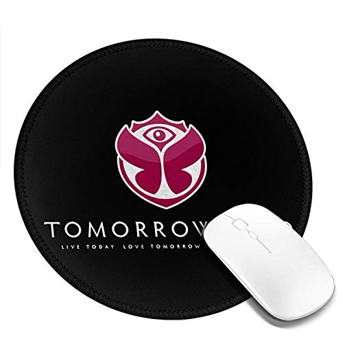 Tomorrowland Round Non Slip Gaming Mouse Pad for