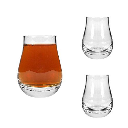 Tuff Luv 2 x Speyside Whisky tasting Dram Glass/Tumbler - 12cl - 4 Oz Beer Glasses