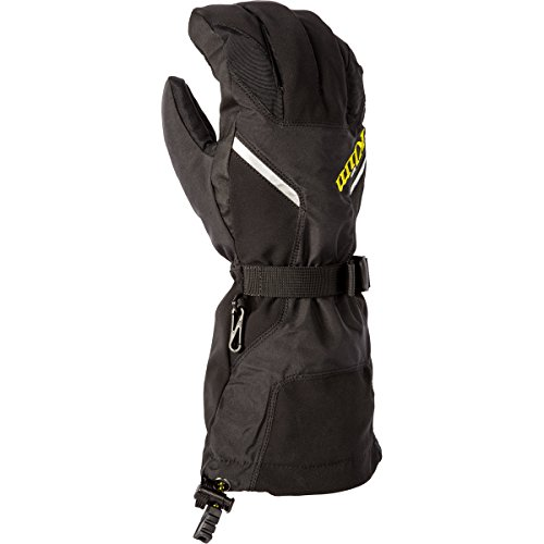 Klim Klimate Men's Ski Snowmobile Gloves - Black / 2X-Large ()