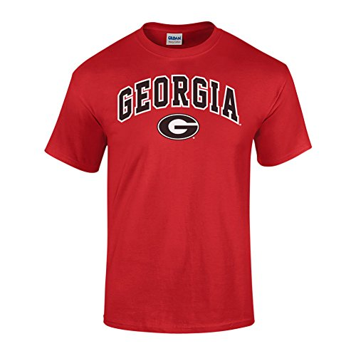 Georgia Bulldogs TShirt Arch Red - M