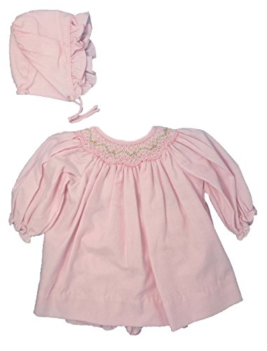newborn smocked dresses - 4